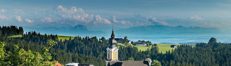 Lummersdorf St. Johann mit Gebirge