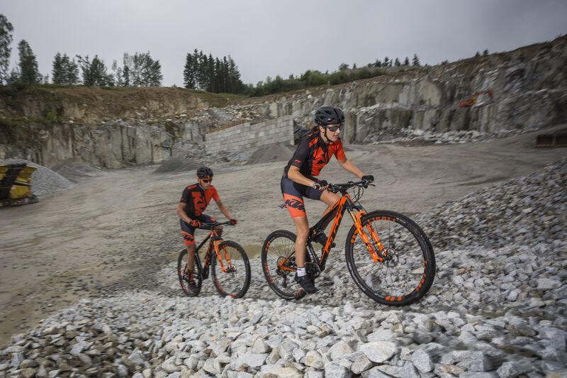 Mountainbike im Mühlviertel - KTM Fahrrad